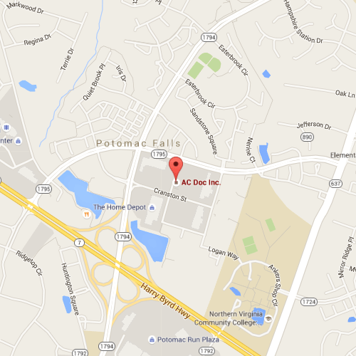 ac doc location map