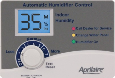 automatic humidifier control